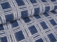 """Байковое одеяло """"Эконом"""" синий"""