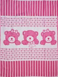 """Байковое одеяло """"Розовое"""" 90"""