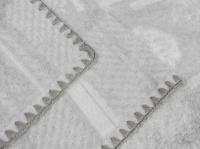 """Байковое одеяло """"Лес"""" серый"""