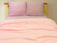 Розовые пуговки