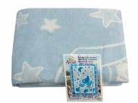 """Байковое одеяло """"Голубое"""" 100"""