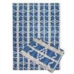"""Байковое одеяло """"Аляска"""" синяя"""