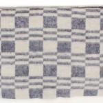 """Байковое одеяло """"Колосок"""" серо-голубое"""