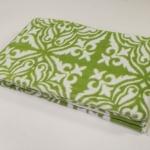 """Байковое одеяло """"Орнамент"""" зелень"""