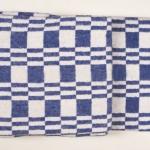 """Байковое одеяло """"Колосок"""" синее"""