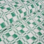 """Байковое одеяло """"Эконом"""" зеленый"""