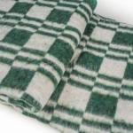"""Байковое одеяло """"Колосок"""" зеленый"""