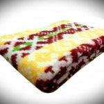 """Одеяла из шерсти """"Красно-желтое"""""""