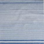 Наволочка льняная полоса голубая 60*60
