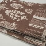 """Байковое одеяло """"Лес"""" коричневый"""
