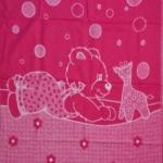 """Байковое одеяло """"Мишка"""" розовое"""