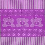 Байковое одеяло сирень 90