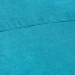 Наволочка льняная ярко-синяя 70*70