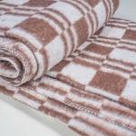 """Байковое одеяло """"Эконом"""" коричневое"""