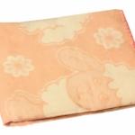 Байковое одеяло персик 90
