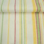 Простынь льняная цветная полоса 150*220 22