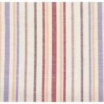 Простынь льняная цветная полоса-4 150*220