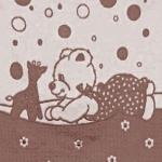 """Байковое одеяло """"Эконом"""" шоколад"""