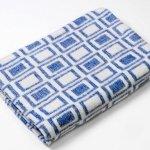 """Байковое одеяло """"Эконом"""" синее"""