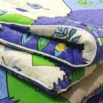 Ватное одеяло 170х205 бязь