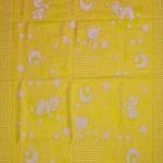 "Байковое одеяло ""Звездочеты"" желтое"